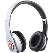 Noontec Zoro Professional Steel Reinforced SCCB Sound Technology Headphones, White