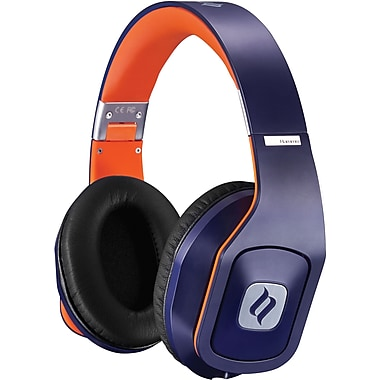 Noontec Hammo Stereo Headphones with Advanced Acoustic Technique, Blue