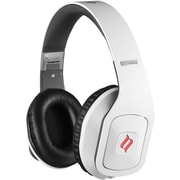 Noontec Hammo Stereo Headphones with Advanced Acoustic Technique, White