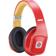 Noontec Hammo Stereo Headphones with Advanced Acoustic Technique, Red
