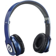 Noontec Zoro Professional Steel Reinforced SCCB Sound Technology Headphones, Blue