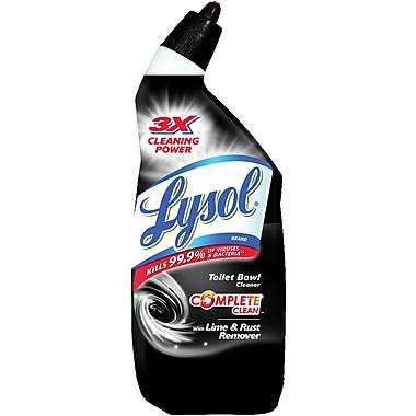 Lysol® Wintergreen Odor Toilet Bowl Cleaner, 24 oz., 12 Bottles/Case