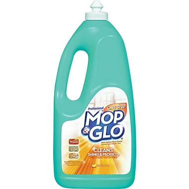 Professional MOP & GLO  Triple Action Floor Shine Cleaner, Fresh Citrus, 64 oz. Bottle