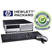 Refurbished HP Compaq C2D, 80GB Hard Drive, 2GB Memory, Intel Core 2 Duo, Win 7 Pro, Lifetime Warranty