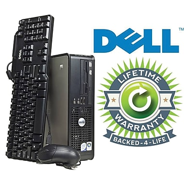 Refurbished Dell Optiplex C2D SFF, 120GB Hard Drive, 2GB Memory, Intel Core 2 Duo, Win 7 Pro, Lifetime Warranty