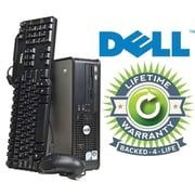 Refurbished HP Compaq C2D Tower, 80GB Hard Drive, 2GB Memory, Intel Core 2 Duo, Win 7 Pro, Lifetime Warranty