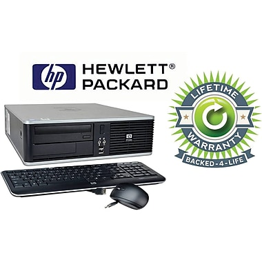 Refurbished HP Compaq C2D SFF, 160GB Hard Drive, 4GB Memory, Intel Core 2 Duo, Win 7 Pro, Lifetime Warranty