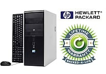 HP Refurbished Compaq C2D 2.3GHz TW Desktop PC Lifetime Warranty
