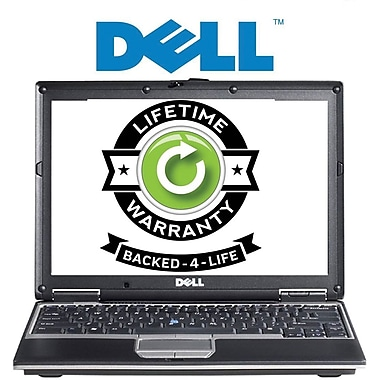 Refurbished Dell Latitude, 100GB Hard Drive, 2GB Memory, Intel Core 2 Duo, Win 7 Pro, Lifetime Warranty