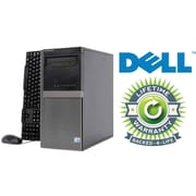 Refurbished Dell Optiplex C2D Tower, 160GB Hard Drive, 4GB Memory, Intel Core 2 Duo, Win 7 Pro, Lifetime Warranty