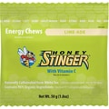 Honey Stinger Caffeinated Energy Chews, Lime-Ade, 1.8 oz., 12/Box