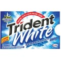 Trident White® Chewing Gum, Peppermint, 12 Piece/Pack, 9 Pk/Bx