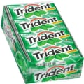 Trident® Chewing Gum, Spearmint, 18 Piece/Pack, 12 Pk/Bx