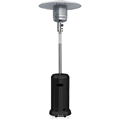 Garden Sun® 41,000 BTU Outdoor Patio Heaters With Wheels, Black