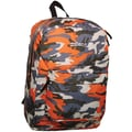 Extreme Basic Backpack, Orange Camo Patch