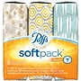Puffs® Basic™ Soft Pack™ Facial Tissues, 2-Ply,
