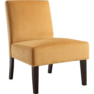 Office Star Ave Six® Fabric Laguna Chair, Butternut Velvet