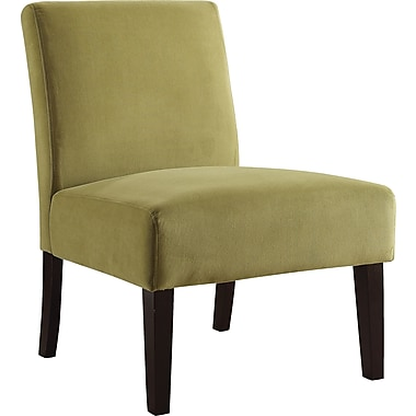 Office Star Ave Six® Fabric Laguna Chair, Basil Velvet