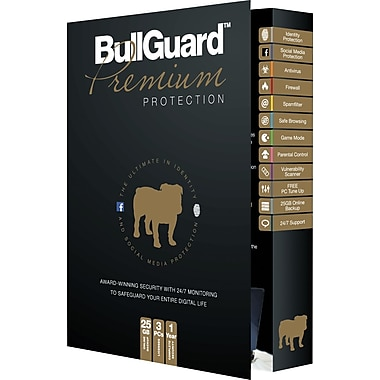 BullGuard Premium Protection (3 User) (1 Year) [Boxed]
