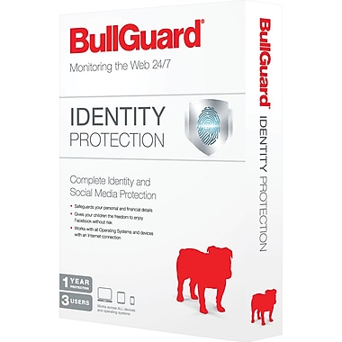 BullGuard Identity Protection (3 User) (1 year) [Boxed]