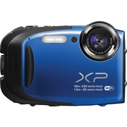Fujifilm FinePix XP70 Waterproof Digital Camera, Blue
