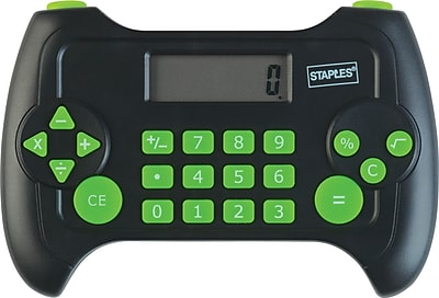 Staples 8 digit Game Controller Game Calculator 43113