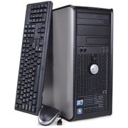 Refurbished Dell Optiplex 780 Tower, 160GB Hard Drive, 2GB Memory, Intel Core 2 Duo, Win 7 Pro
