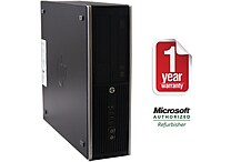 Refurbished HP 8200, 1.5TB Hard Drive, 8GB Memory, Intel Core i5, Win 7 Pro