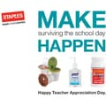 Staples® Make Surviving School Happen Gift Cards