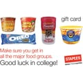Staples® Graduate Food Gift Cards