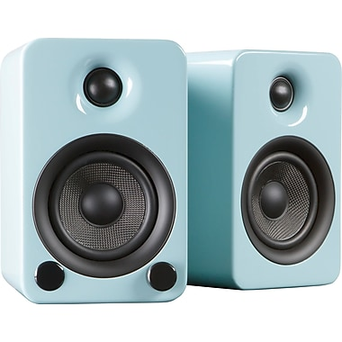 Kanto YU3 Powered Bookshelf Speakers with Bluetooth™ Technology, Gloss Teal