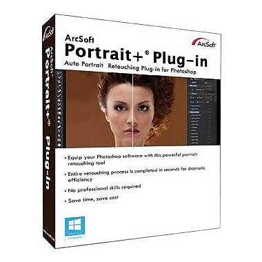 ArcSoft Portrait+ Photoshop Plug-in for Windows (1 User) [Download]