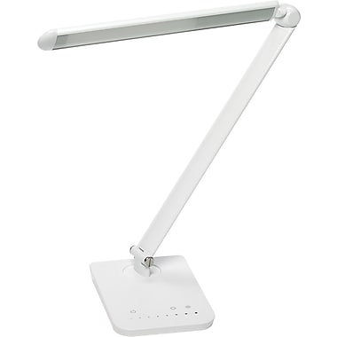 Safco® Vamp™ LED Lamp, White