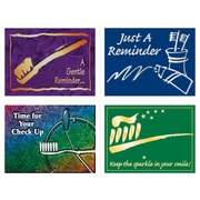 MAP Brand Dental Assorted Laser Postcards Reminder Assortment