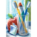 Custom Postcard Dental Toothbrush Scene
