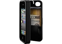 eyn case for iPhone 4/4S with Hinged Storage Back