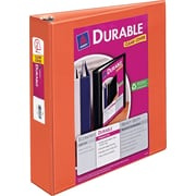 2 Avery® Durable View Binders with Slant-D™ Rings, Orange