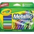 Crayola® Metallic Markers, 8/Pack
