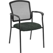 Raynor Eurotech Dakota 2 Fabric/Mesh Guest Chair, Carbon Abstract