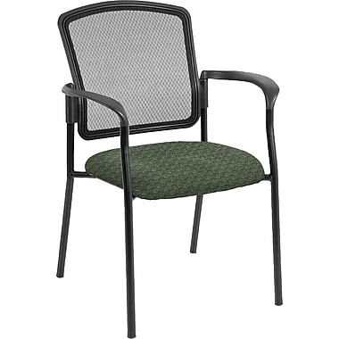 Raynor Eurotech Dakota 2 Fabric/Mesh Guest Chair, Cirque Summer Grass