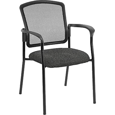 Raynor Eurotech Dakota 2 Fabric/Mesh Guest Chair, Basis Fog