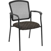 Raynor Eurotech Dakota 2 Fabric/Mesh Guest Chair, Transport Pewter
