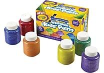 Crayola® 2 oz. Washable Kid's Glitter Paint Set, 6/Pack
