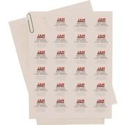 JAM Paper® 1.6 Circle Label Sticker Seal, White, 120/Pack