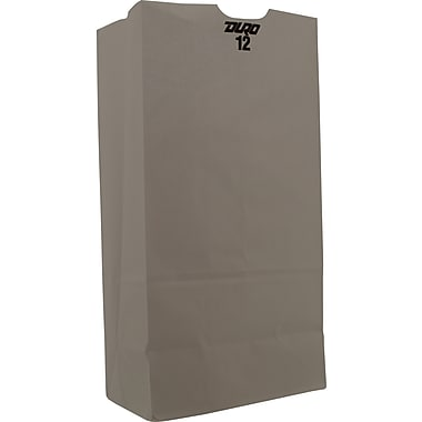 White Paper Grocery Bag, 12 lb., 500 pk