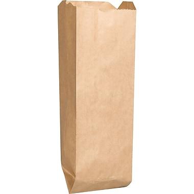 M2C Kraft Paper 16in.H x 2.5in.W x 4.25in.L Solid Food Bags, Brown, 500/Pack