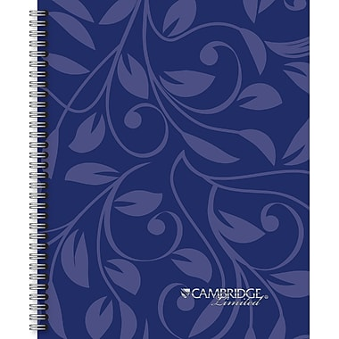 Mead Cambridge Limited Blue Notebook, 9-1/4in. x 11in.