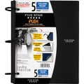 Five Star Flex® Notebook, 5-Subject, College Ruled, Assorted, 8-1/2in. x 11in.