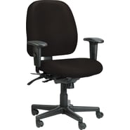 Raynor Eurotech Vinyl 4 x 4 Multi-function Task Chair, Persuasion Onyx