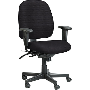 Raynor Eurotech Fabric 4 x 4 Multi-function Task Chair, Van Dyke Brazil